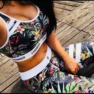 High Waisted Beauty leggings and sports bra set